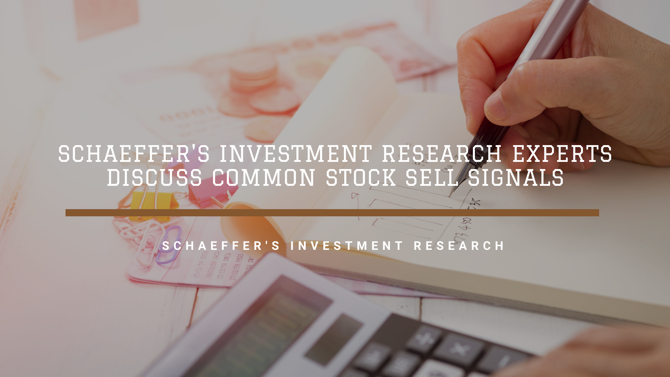 Schaeffer's Investment Research Experts Discuss Common Stock Sell Signals
