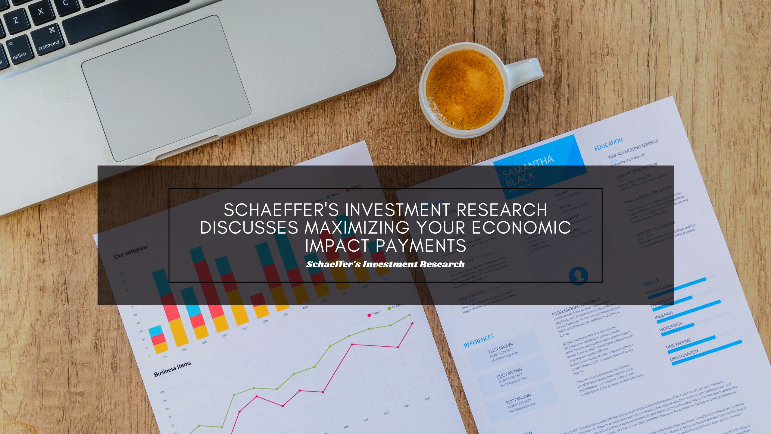 Schaeffer's Investment Research Discusses Maximizing Your Economic Impact Payments