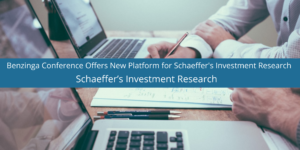 Benzinga Conference Offers New Platform for Schaeffer's Investment Research